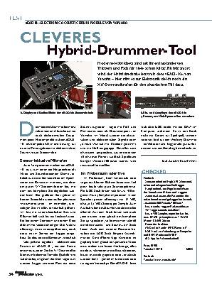 Cleveres Hybrid-Drummer-Tool