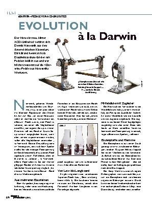 EVOLUTION à la Darwin