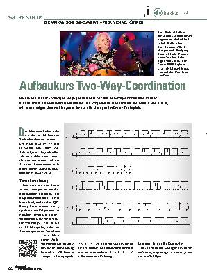 Aufbaukurs Two-Way-Coordination