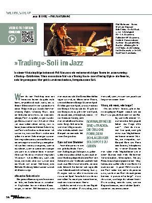 »Trading«-Soli im Jazz