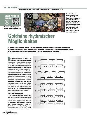 Goldmine rhythmischer Möglichkeiten