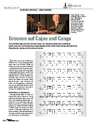 Grooven auf Cajon und Conga