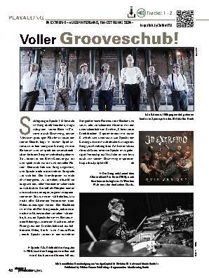 Voller Grooveschub!