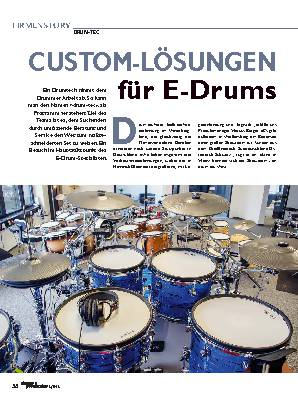 CUSTOM-LÖSUNGEN für E-Drums