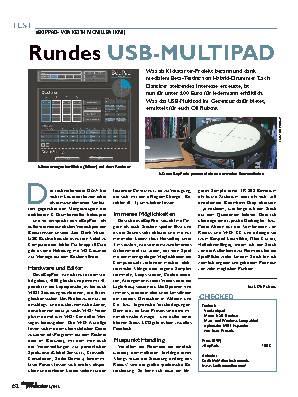 Rundes USB-MULTIPAD