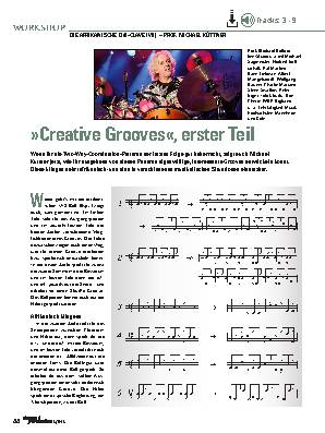 »Creative Grooves«, erster Teil