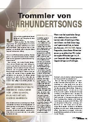 Trommler von JAHRHUNDERTSONGS