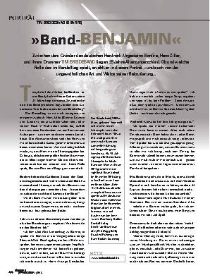 »Band-BENJAMIN«