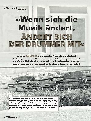 »Wenn sich die Musik ändert, ÄNDERT SICH DER DRUMMER MIT«