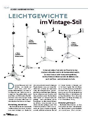 LEICHTGEWICHTE im Vintage-Stil