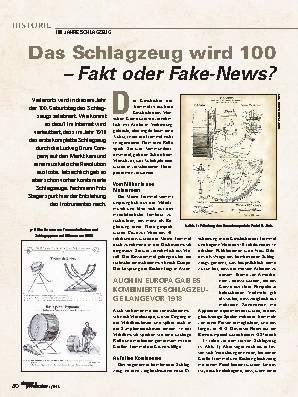 Das Schlagzeug wird 100 – Fakt oder Fake-News?