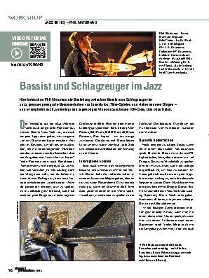 Bassist und Schlagzeuger im Jazz