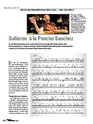 Solieren à la Poncho Sanche