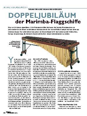 DOPPELJUBILÄUM der Marimba-Flaggschiffe
