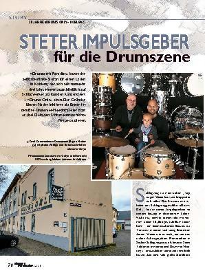 STETER IMPULSGEBER für die Drumszene