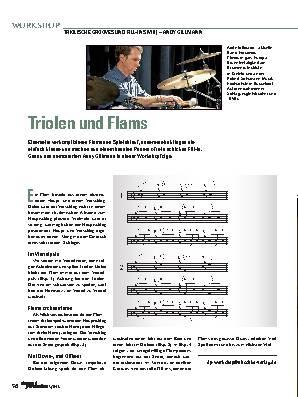 Triolen und Flams