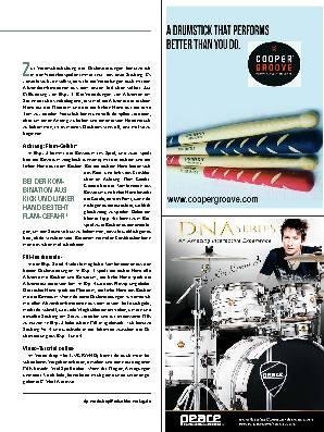 Drumset-Orchestrierungen des Six-Stroke-Rolls