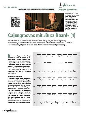 Cajongrooves mit »Buzz Board« (1)