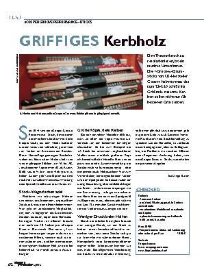 GRIFFIGES Kerbholz