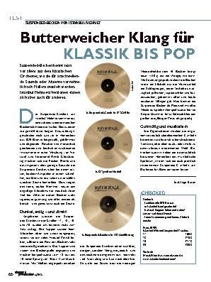 Butterweicher Klang für KLASSIK BIS POP