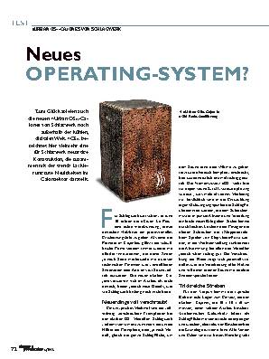 Neues OPERATING-SYSTEM?