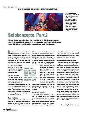 Solokonzepte, Part 2