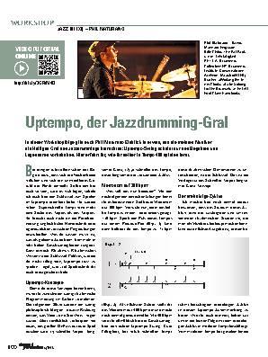 Uptempo, der Jazzdrumming-Gral