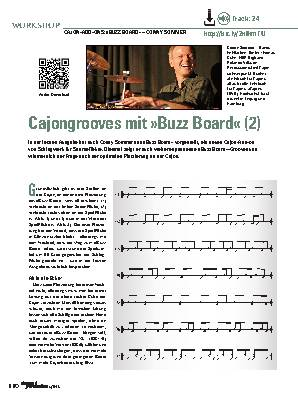 Cajongrooves mit »Buzz Board« (2)