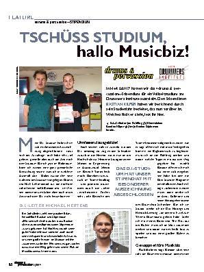 TSCHÜSS STUDIUM, hallo Musicbiz!