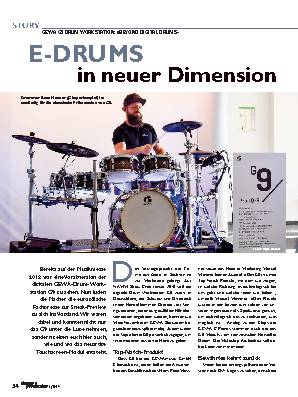 E-DRUMS Drummer in neuer Dimension