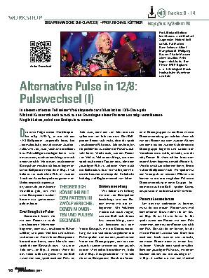 Alternative Pulse in 12/8: Pulswechsel (I)