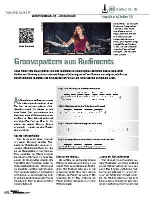 Groovepattern aus Rudiments