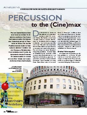 PERCUSSION to the (Cine)max
