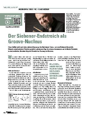 Der Siebener-Endstreich als Groove-Nucleus