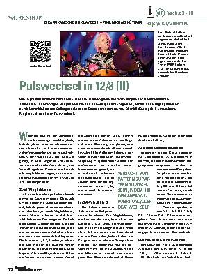 Pulswechsel in 12/8 (II)