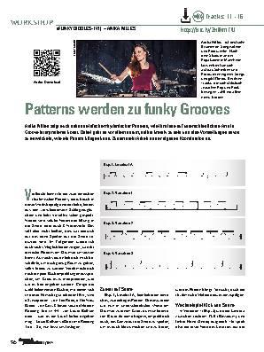Patterns werden zu funky Grooves