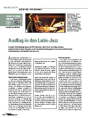 Ausflug in den Latin-Jazz