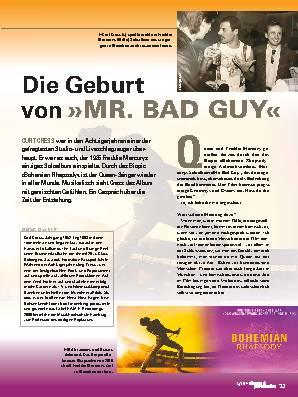 Die Geburt von »MR. BAD GUY«