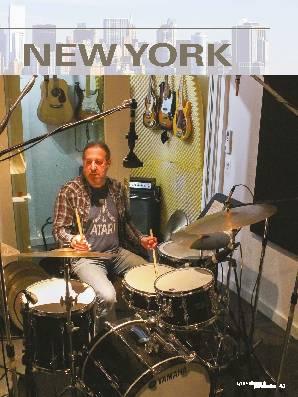 Studio-Stippvisite in NEW YORK