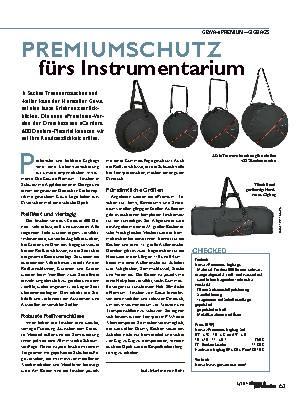 PREMIUMSCHUTZ fürs Instrumentarium