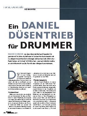 Ein DANIEL DÜSENTRIEB für DRUMMER