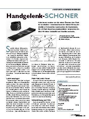 Handgelenk-SCHONER