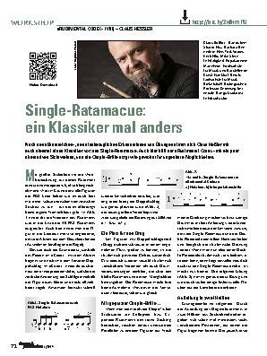 Single-Ratamacue: ein Klassiker mal anders