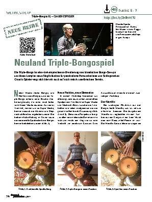 Neuland Triple-Bongospiel