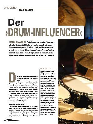 Der >DRUM-INFLUENCER<