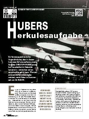 HUBERS Herkulesaufgabe