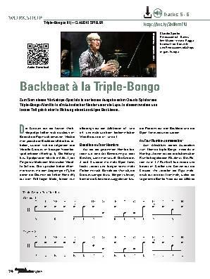 Backbeat à la Triple-Bongo