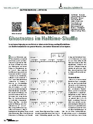 Ghostnotes im Halftime-Shuffle