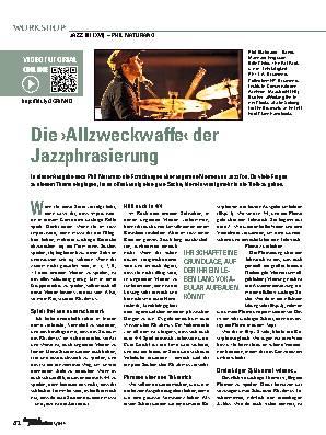 Die ›Allzweckwaffe‹ der Jazzphrasierung