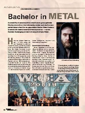 Bachelor in METAL